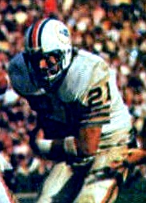 Jim Kiick - Kiick playing for the Dolphins in Super Bowl VII