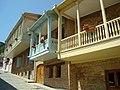 19 cent. balconies in Sighnaghi, Georgia.JPG