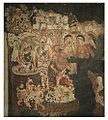 19th century copy of 1st century BCE to 5th century CE Ajanta Cave 2 painting Hariti and Kubera 2.jpg