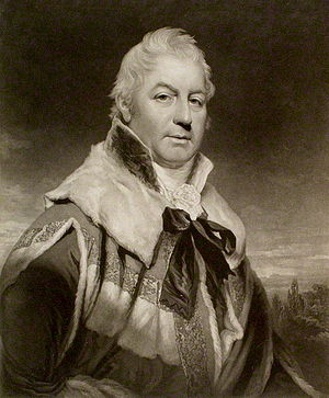 John Rous, 1st Earl of Stradbroke - The Earl of Stradbroke, 1811.