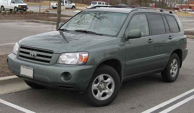 Image of Highlander (XU20) - Toyota