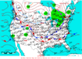 2005-01-10 Surface Weather Map NOAA.png