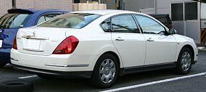 Nissan Teana - Facelift Nissan Teana (Japan)