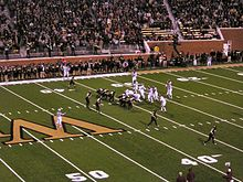 2006 Virginia Tech at Wake Forest lined up.jpg