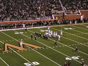 BB&T Field - Wake Forest and Virginia Tech at Groves Stadium in 2006