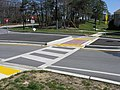 2008 03 20 - Whiskey Bottom Rd @ All Saints Rd - Roundabout 2.JPG