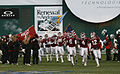 2009 EagleBank Bowl - Temple Owls entrance.jpg