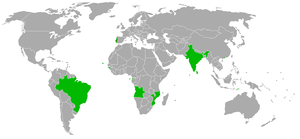 2009 Lusophony Games - Countries participating in the 2009 Lusophony Games