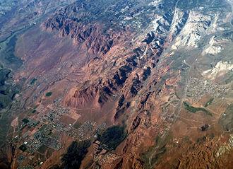 Ivins, Utah - Aerial view of Ivins