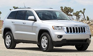 Jeep Grand Cherokee - Image: 2011 Jeep Grand Cherokee Laredo NHTSA 2