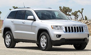 Jeep Grand Cherokee full size SUV manufactured by Jeep
