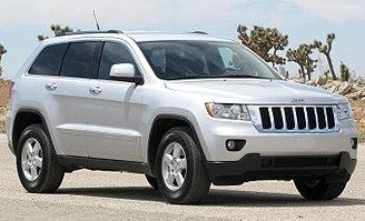 Jeep Grand Cherokee - Image: 2011 Jeep Grand Cherokee Laredo NHTSA 2