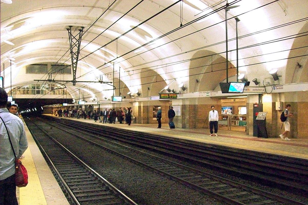 Termini Rome Metro Wikipedia