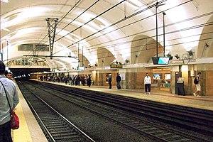 Termini (Rome Metro) - Line B station platform