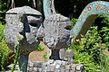 2013 Bruno Weber Skulpturenpark-Führung - Villa Gartenbereich 2013-08-02 12-37-06.JPG
