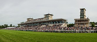 Prix de Diane - The Chantilly Grandstand at the 2013 Prix de Diane