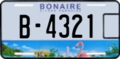 2013 license plate Bonaire.png