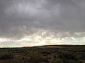 2014-07-03 17 41 43 Thunderstorms producing virga in Elko, Nevada.JPG