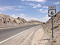 2014-07-17 12 59 06 View east along U.S. Route 6 about 1.9 miles east of the Esmeralda County Line in Tonopah, Nevada.JPG