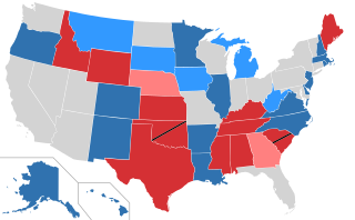 Election 2014 Election Map