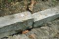 2015-08-11 Gartenfriedhof Hannover, Höherlegung Einfriedung Wendebornsches Erbbegräbnis (Wendeborn) (2).JPG