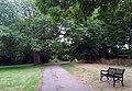 2015London, Woolwich-Plumstead, Shrewsbury Park, Plum Lane entrance 02.jpg