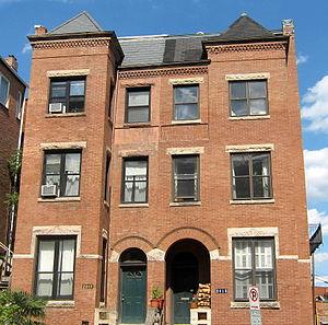 Samuel Greene Wheeler Benjamin - Benjamin's former residence (right) in Washington, D.C.
