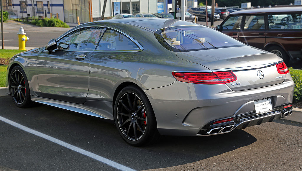 file 2015 mercedes benz s63 amg coup rear left us jpg wikimedia commons. Black Bedroom Furniture Sets. Home Design Ideas
