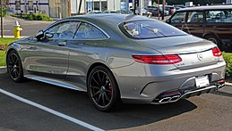 2015 Mercedes-Benz S63 AMG Coupé, rear left (US).jpg