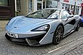 2016 McLaren 570S 3799 cc coupé at Horsham English Festival 2018.jpg