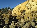 2017-12-01 Rocks and cliffs, Praia de Santa Eulália, Albufeira.JPG