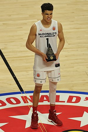 2017 McDonald's All-American Boys Game - Michael Porter Jr. earned the MVP award