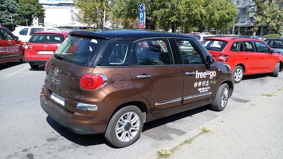 2017 Fiat 500L Facelift Rear