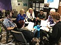 2017 Movement strategy space at Wikimania - participation in session 01-02.jpg