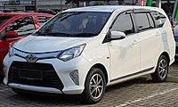 2017 Toyota Calya 1.2 G wagon (B401RA; 01-12-2019), South Tangerang.jpg