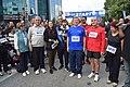 2018 Nicosia Marathon, Mustafa and Meral Akıncı, Mehmet Harmancı.jpg