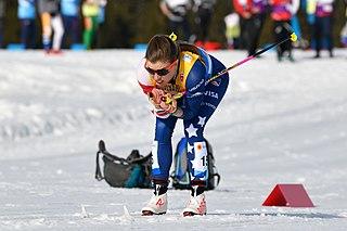 Rosie Brennan American cross-country skier