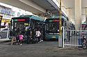 20190309 Yutong ZK6120CHEVNPG4 buses of ZZB Route 35 at Heyi Interchange.jpg