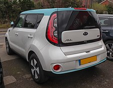 Rear The Kia Soul Ev