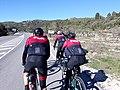 2020-02-22 Ciclistes camí de Castell de Castells 02.jpg
