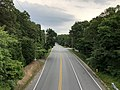2020-06-22 18 28 21 View south along Maryland State Route 173 (Fort Smallwood Road) from the pedestrian overpass near Devere Drive in Lake Shore, Anne Arundel County, Maryland.jpg