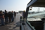 2020 Indian farmers' protest - broken window shield.jpg