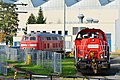 218 825-8 DB Fernverkehr 261 077-2 Cottbus 26.10.14 (15726713862).jpg