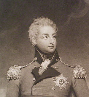 Prince William Frederick, Duke of Gloucester and Edinburgh - The Duke of Gloucester, in an engraving based on a portrait painted by Sir William Beechey, published 1826.