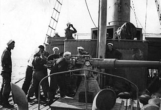 "3""/50 caliber gun - Image: 3 inch, 50 caliber gun, World War I"