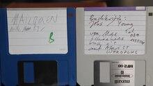 Datei:3.5 Zoll Disketten 1980er Jahre.webm