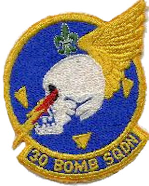 30th Bombardment Squadron - SAC - Emblem