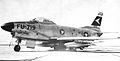 329th Fighter-Interceptor Squadron North American F-86D-40-NA Sabre 52-3719 1956.jpg