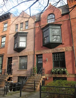 Cobble Hill Historic District - Image: 33 & 35 Strong Place Brooklyn