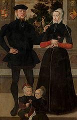 Thomas Gerritzn Doesburch en Claesje Hendricksdr Roeclaes met hun dochters